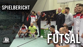 Hamburg Panthers - FC Fortis (Finale, Futsal Final Four 2017) - Spielbericht | ELBKICK.TV