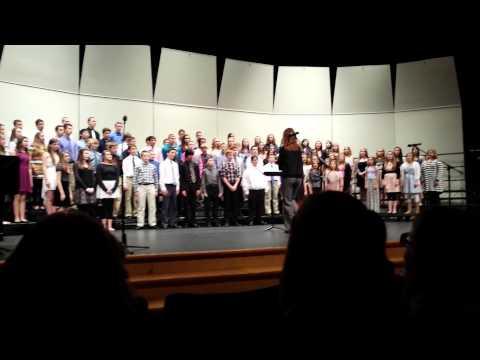 Waukee Middle school 8th grade concert