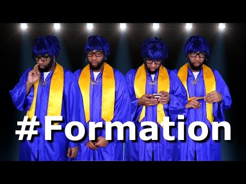 The Starrkeisha Choir - Formation! @TheKingOfWeird #BeyHive