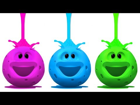 Wonderballs Cartoons | Colors and Paint | Learning Videos For Babies | Cartoon Candy
