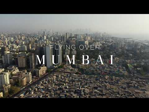 FLYING OVER MUMBAI (DHARAVI) 4K Aerial Film