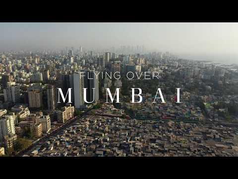 FLYING OVER MUMBAI (DHARAVI) 4K Aerial Film