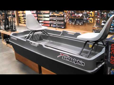 Sun Dolphin Sportsman Deluxe Fishing Boat Review Youtube