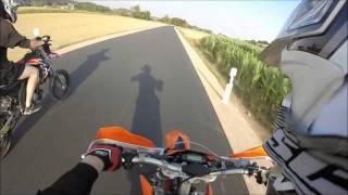 KolbenKiller - KTM EXC 125 vs. Aprilia SX 125