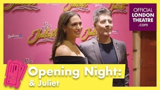 & Juliet Press Night