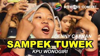 LIVE [HD] DENNY CAKNAN - SAMPEK TUWEK   KPU WONOGIRI   SOLO LIVE CONCERT