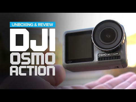 DJI Osmo Action Unboxing And Review