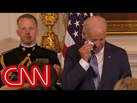 Obama's surprise brings Joe Biden to tears