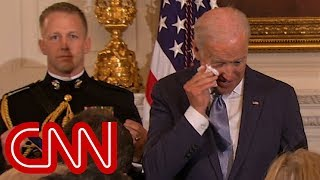 Obama's surprise brings Joe Biden to tears thumbnail