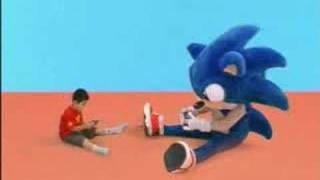 Sonic Pinball Party Japanese Commercial