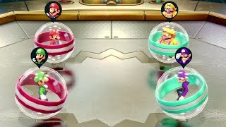 All Funny Bumper Ball Minigames in Mario Party Games