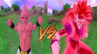 Goku Kaioken SSJ3 VS Kid Buu