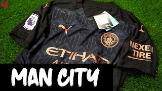 Puma Manchester City Kun Agüero 2020/21 Authentic Away Jersey Unboxing + Review
