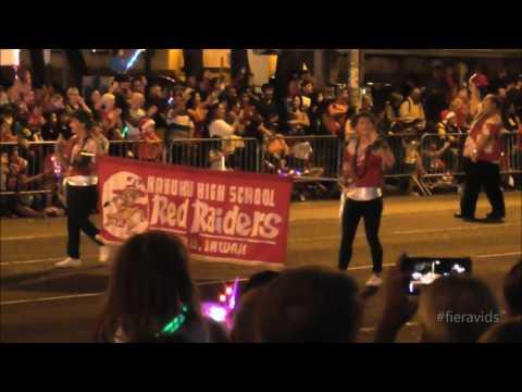 Honolulu City Lights, Christmas Parade 2016.
