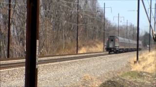 The Pennsylvanian,trains 42,43 and 2 Keystones Part 2