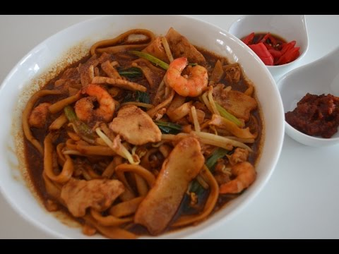 NOODLES - LOR MEE MALAYSIAN - HAWKER FAVOURITE - SWEET & SOUR FRIED NOODLES