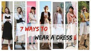 How to Style A Dress | 一条裙子7种搭配 | Sarahs look