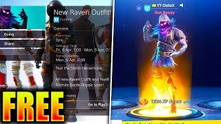 "How To Get ""Raven"" SKIN COMING TONIGHT for FREE in Fortnite Battle Royale! (WEEK 7 CHALLENGES)"