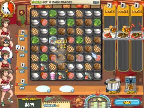 I play: Restaurant Rush p2