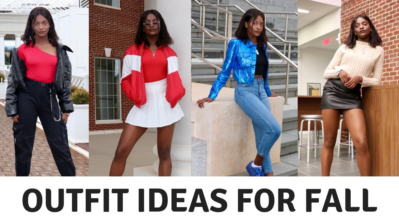 [VIDEO] - FALL LOOKBOOK: 4 OUTFIT IDEAS | MADELINE'S AVENUE 6