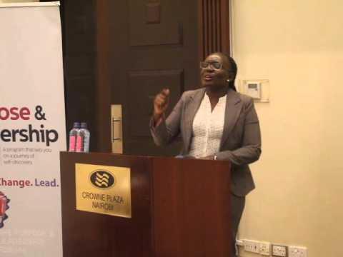 Grace Wanderi - UpperHill Leaders Fellowship Crowne Plaza.