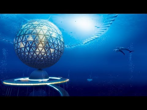 Ocean Spiral is a conceptual city proposed beneath the surface of the ocean