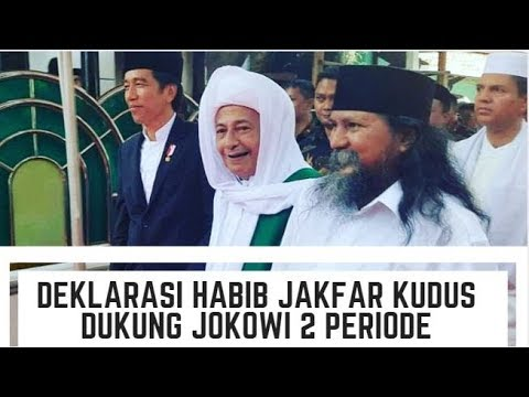 Deklarasi Habib Jakfar Dukung Jokowi 2 Periode