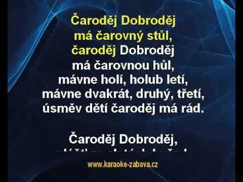 Václav Neckář - Čaroděj Dobroděj (karaoke KLIP)
