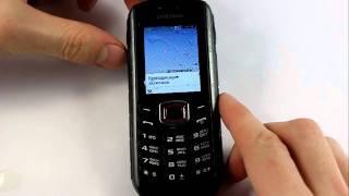 Samsung B2710 Xcover. Погружение в пиво на 10 секунд