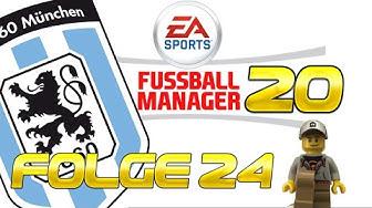 TSV 1860 München #24 - Ballern für Liga 2 - Fußball Manager 20 - 3. Liga  #StayAtHome #PlayAtHome