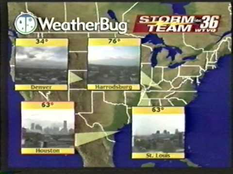 WTVQ Action News 36 WX with Jon James | Fall 2004