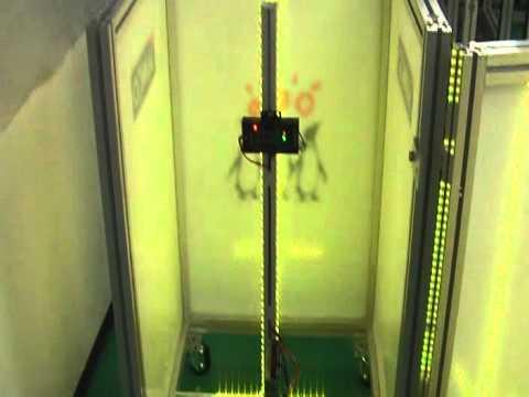 20111125サンコーインダスト展示台LEDテスト2