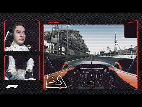 Stoffel Vandoorne's Virtual Hot Lap of Bahrain | 2018 Bahrain Grand Prix
