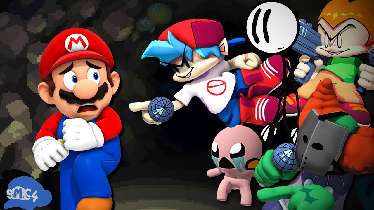 SMG4: If Mario Was In... Newgrounds