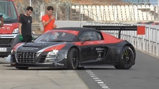 Test Audi R8 LMS Luis Monzón