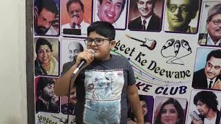 Bhavik  sindhyun ja mela Audition song