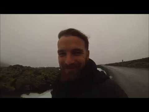 Iceland Travel Around the World GoPro - Reykjavik, Skogafoss, Black Beach Vik and Tectonic Plates
