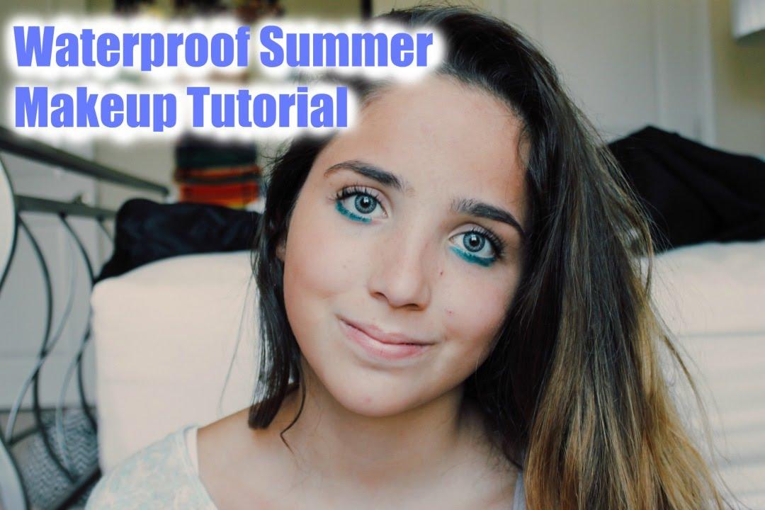 Waterproof Summer Makeup Tutorial!!