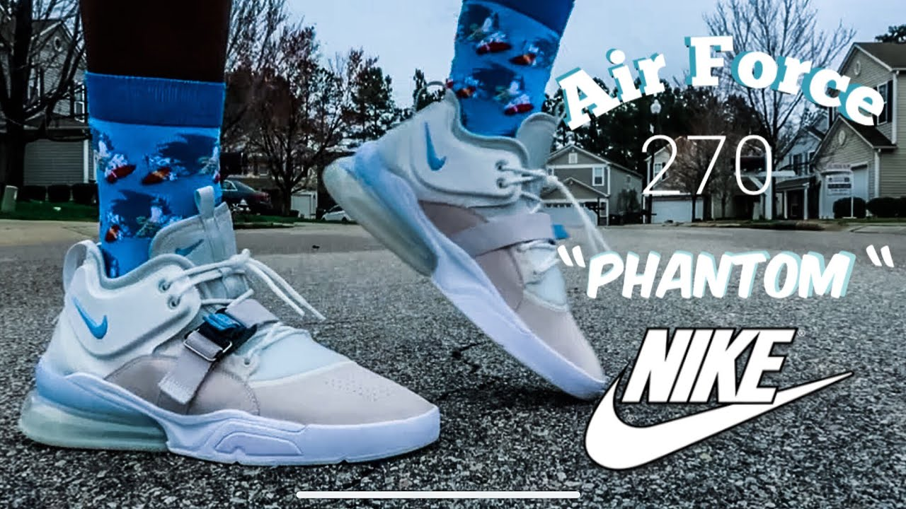 Nike Air Force 270 Phantom Review + Epic On Foot