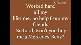 Скачать Mercedes Benz Janis Joplin Lyrics