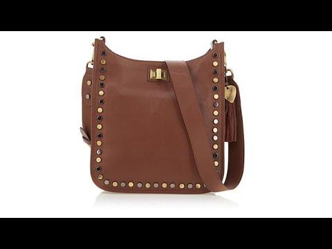 f4e50569be6e60 Sheryl Crow Studded Leather Crossbody Bag - YouTube