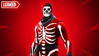 New RED SKULL TROOPER SKIN in Fortnite..