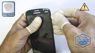 Como Trocar a Lente, Visor, Touch Screen do Samsung Galaxy Gran Duos GT-I9082 - TELECELULA
