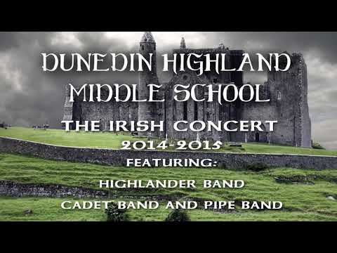 Dunedin Highland Middle School Irish Concert 2014-2015