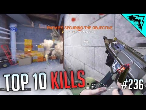 GOOD AIM IS KEY - Top 10 Rainbow Six Siege Kills - WBCW #236