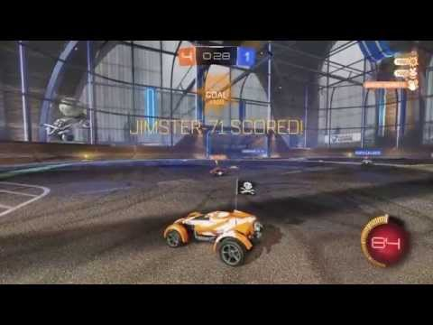 Rocket League - PS4 Gameplay - SHAREfactory Theme