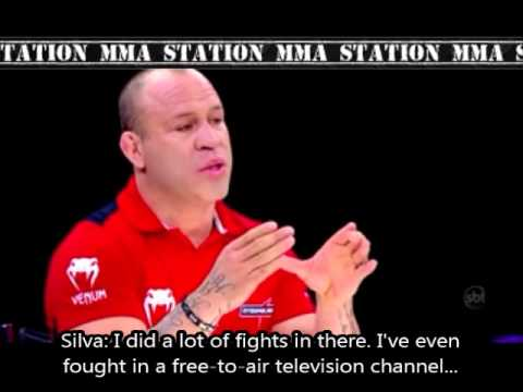 Interview (english subtitles) with Wanderlei Silva (09/29/13