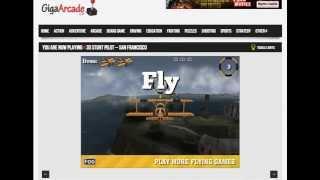 Giga Arcade: Microsoft Flight Simulator X - Free 3D Stunt Pilot Game Gameplay