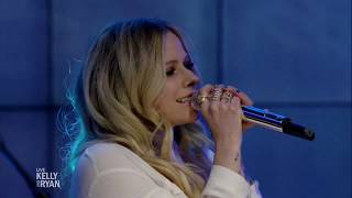 Avril Lavigne - Head Above Water @ Live with Kelly & Ryan 18/02/2019 Video