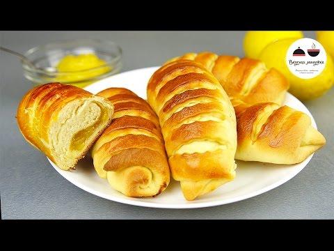 Булочки-бриоши с кремом патисьер • Пироги, пирожки